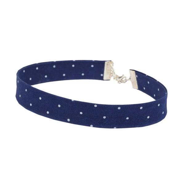 Kropfband marineblau