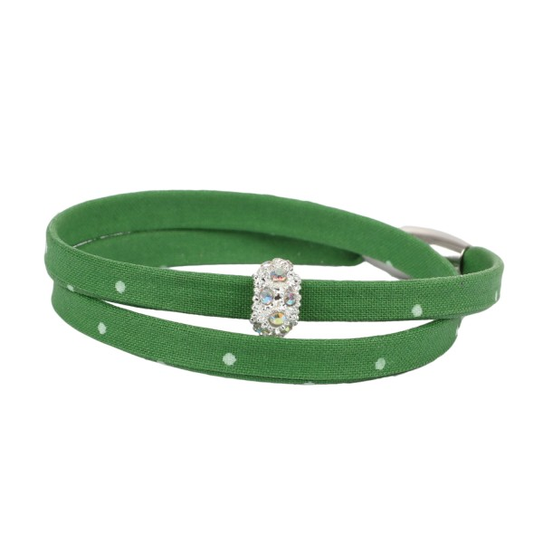 Trachtenarmband Morgentau hellgrün